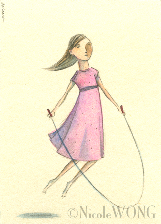 aceo.Jump rope
