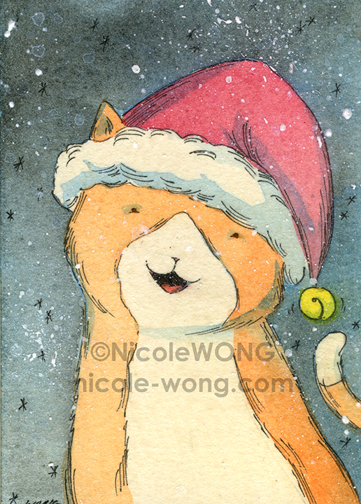 eBay.aceo.Jingle-bell