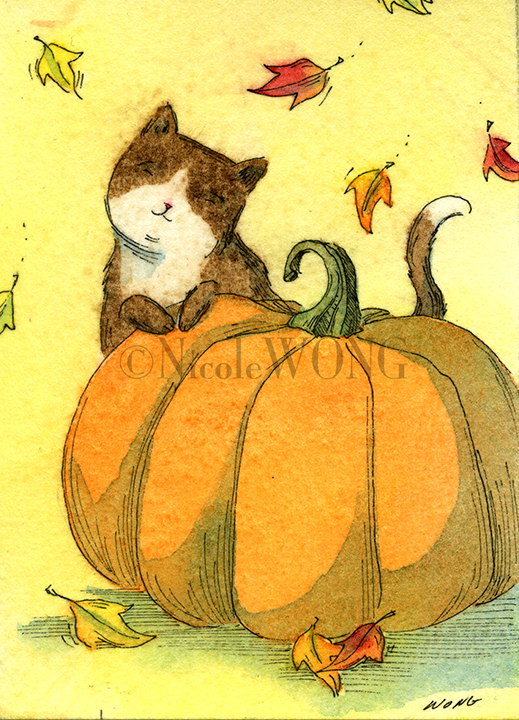 eBay.aceo.Pumpkin time