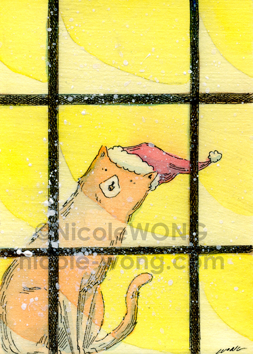 eBay.aceo.Snow for Christmas