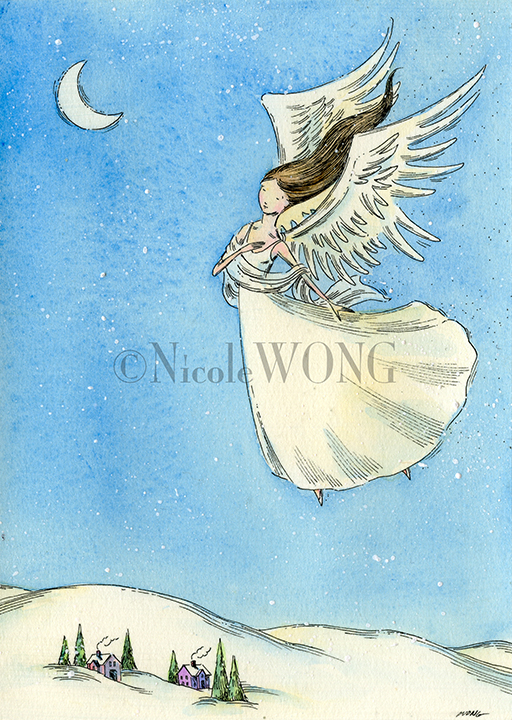 ebay.5x7.Peaceful angel