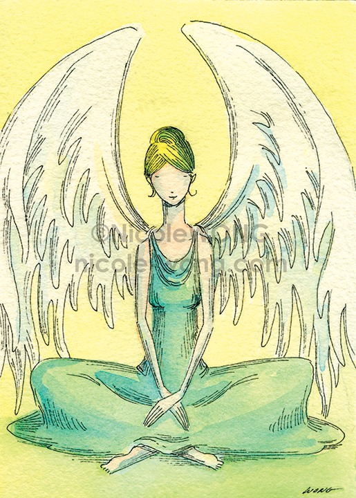 5x7.Angel-Meditation-print