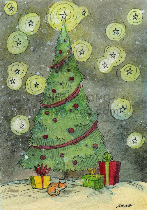 eBay.aceo.Christmas-snow