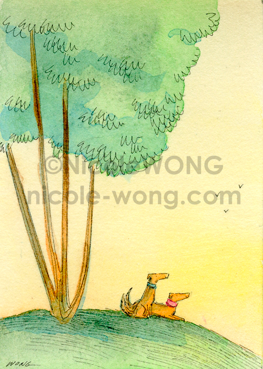 eBay.aceo.Sunrise-with-a-friend