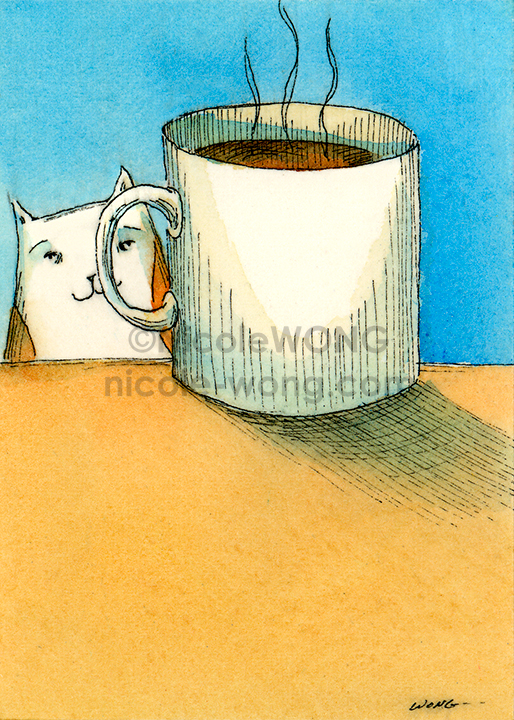 aceo-print-Coffee-Break