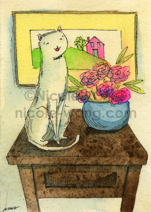 eBay.aceo.Cat-still-life