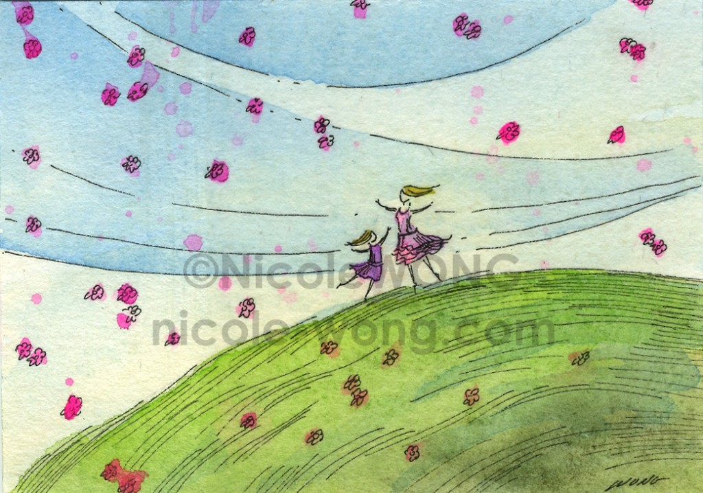 etsy.aceo.Spring-Dance