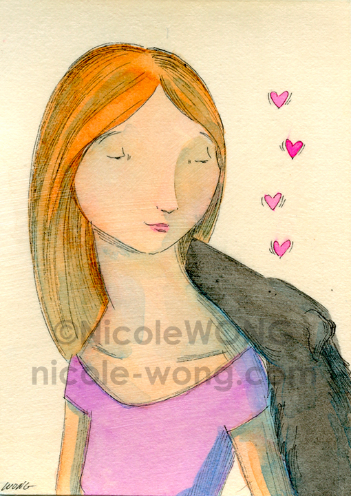 ebay.aceo.Lady-love