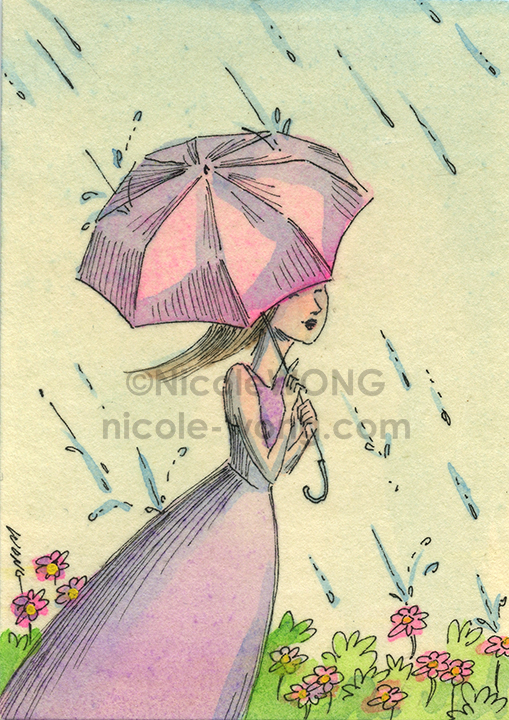etsy.aceo.Happy-rain