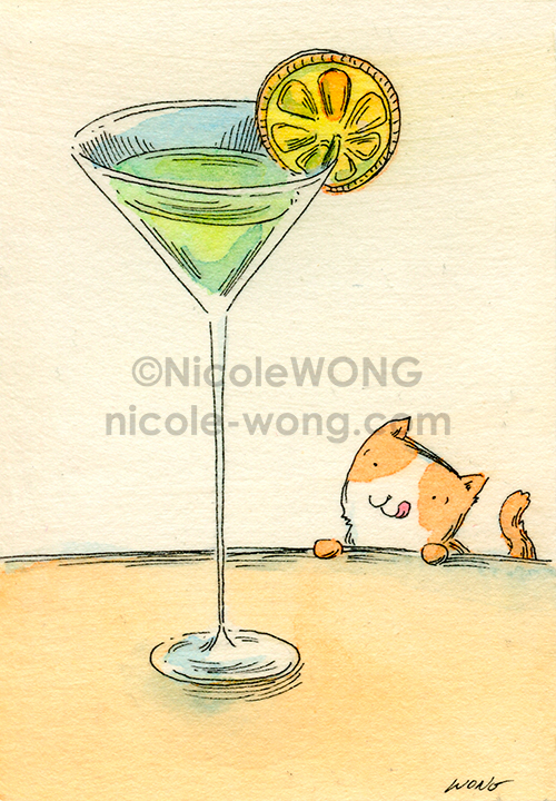ebay.aceo.Fancy-drink