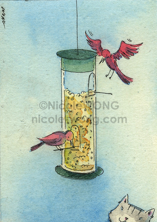 etsy.aceo.the-Bird-Feeded