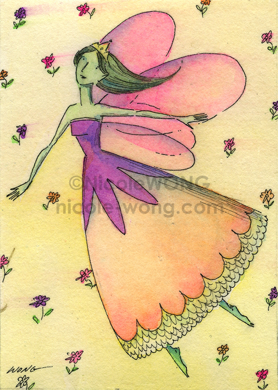 etsy.aceo.Fairy-dance