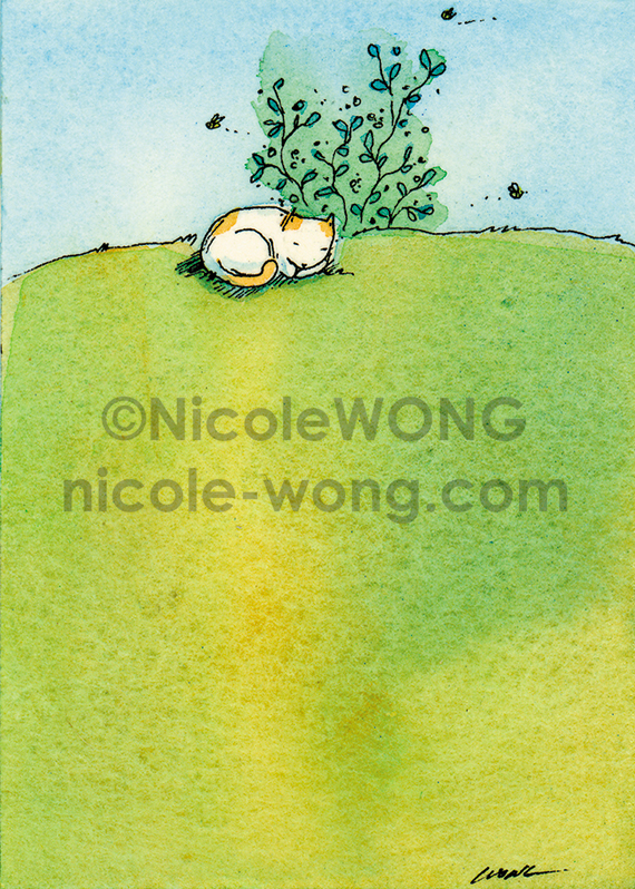 print.aceo.Nap-Outside.Etsy