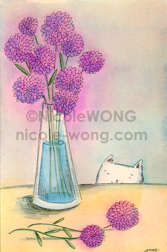 etsy.4x6.Purple-flower-vase