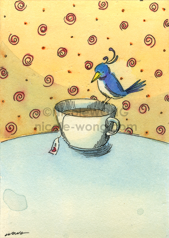 etsy.aceo.Tea-Time