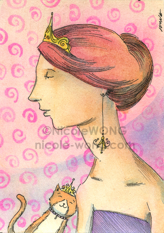 etsy.aceo.Princesses