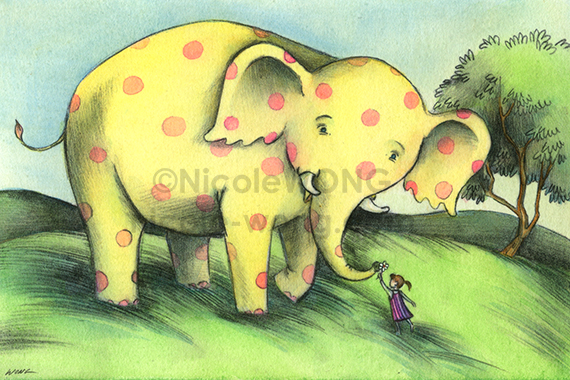 print.4x6.Elephant-friend