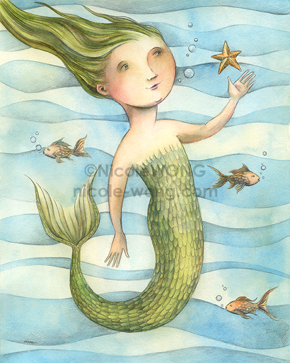 print.8x10.Mermaid