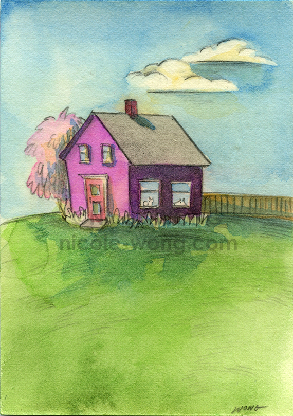 etsy.aceo.Quiet-Home