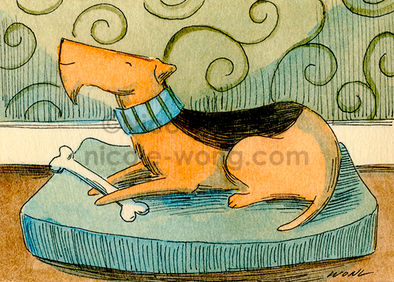 etsy.aceo.Happy-Airedale