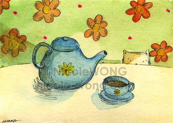 aceo.Tea-time