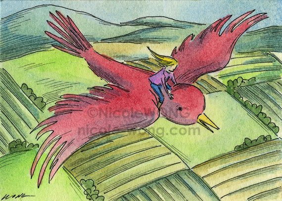 ebay.aceo.Flight