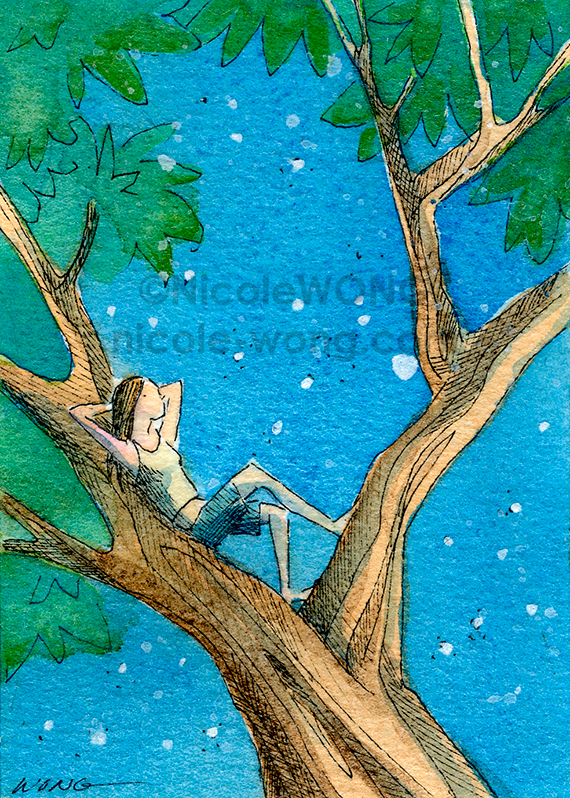 print.aceo.Dreaming